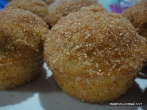 Easy Jam Doughnut Muffins